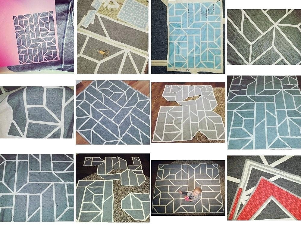 geometric quilt pattern floridalabco Modern Geometric Quilting Patterns Gallery