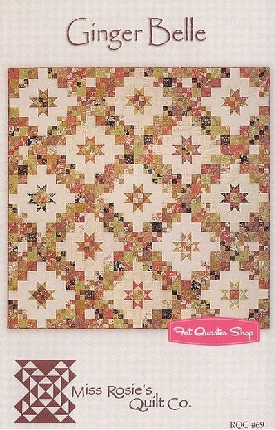 ginger belle quilt pattern miss rosies quilt company Modern Miss Rosie Quilt Patterns