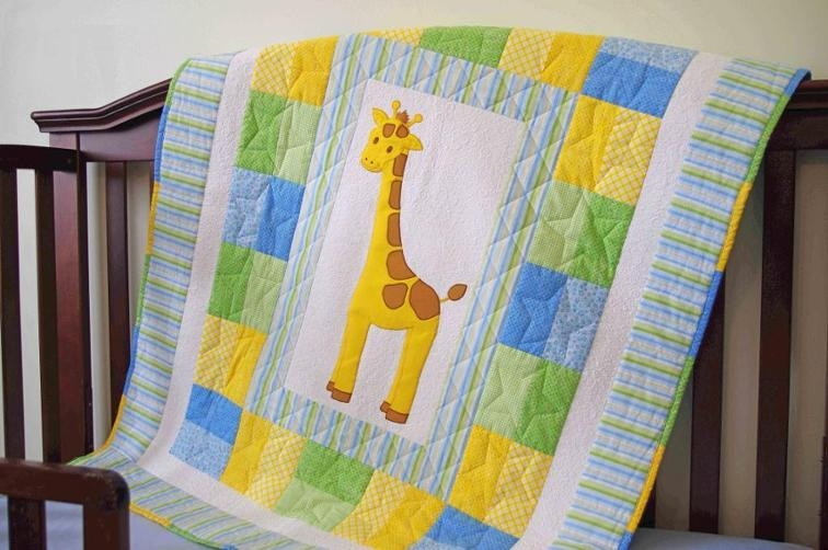 giraffe ba quilt bluprint Interesting Quilts For Babies Patterns Inspirations