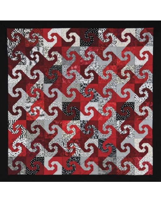 go snails trail quilt pattern accuquilt Cool Snail Trail Quilt Pattern Inspirations