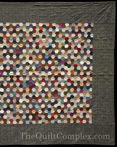 grandmothers flower garden quilt honeycomb hexagon quilts Unique Hexagon Patchwork Quilt Patterns Gallery