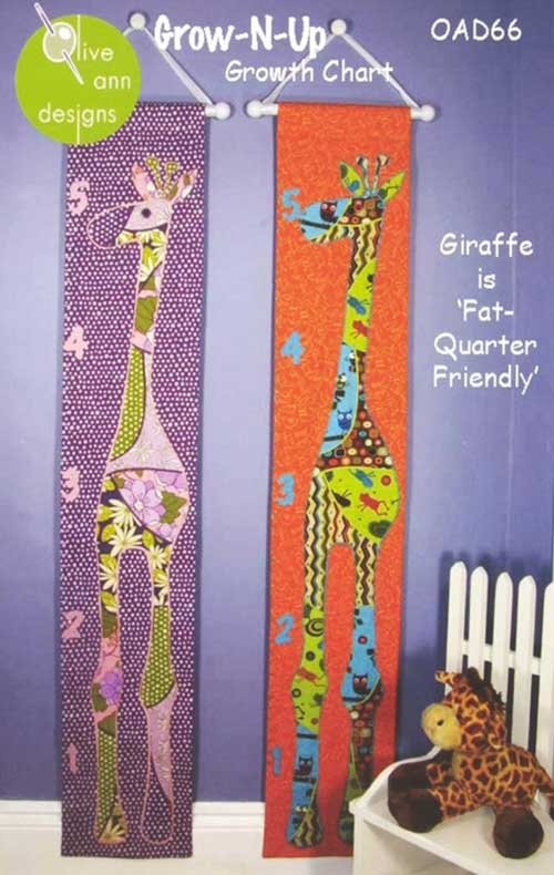 grow n up growth chart sewing pattern love to sew Cool Quilted Growth Chart Pattern Inspirations