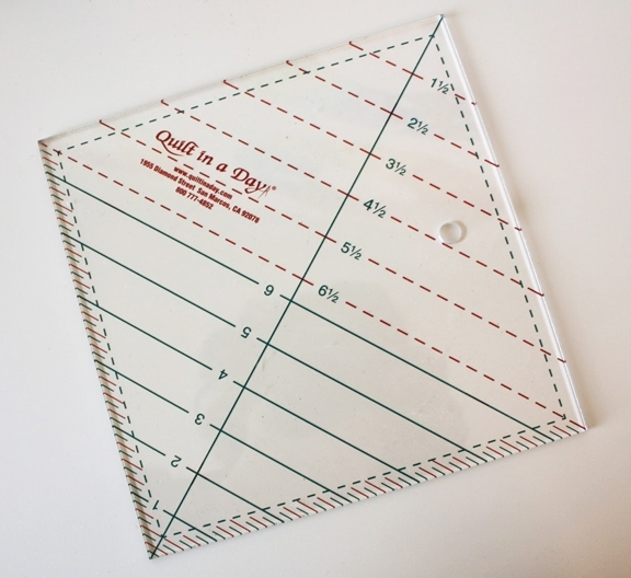 Permalink to Modern Half Square Triangle Ruler Quilt In A Day