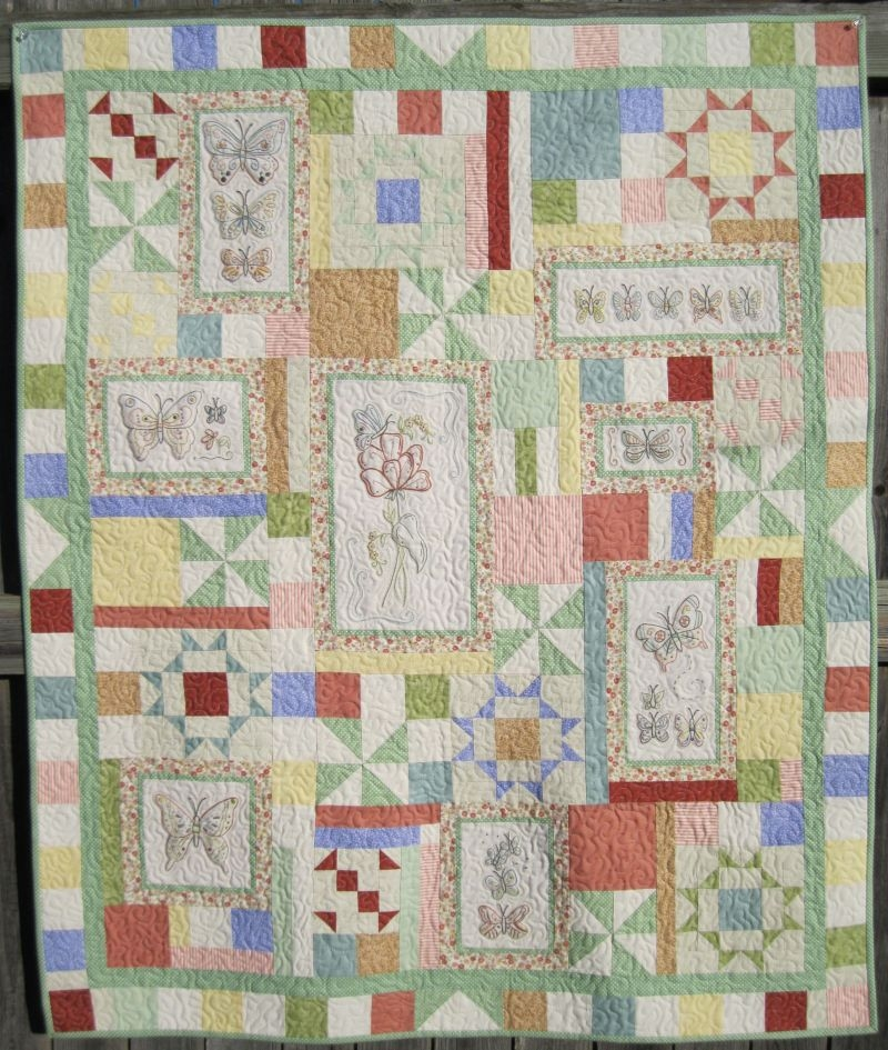 hand embroidery quilt patterns to make beautiful gifts and Stylish Hand Embroidered Quilt Patterns