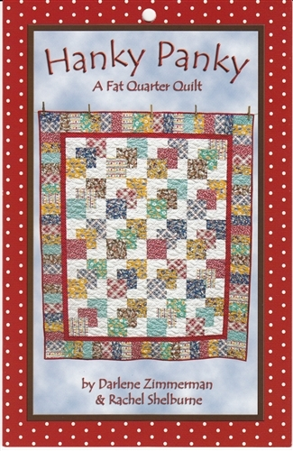hanky panky a fat quarter quilt pattern Hanky Panky Quilt Pattern