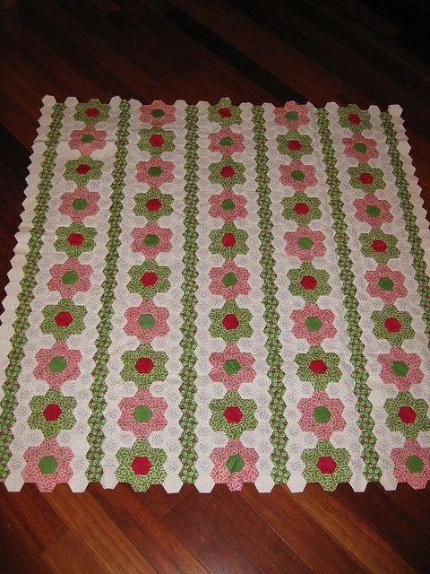 hexagon flowers quilt quilting hexagon quilt hexagon Unique Hexagon Flower Quilt Pattern Inspirations