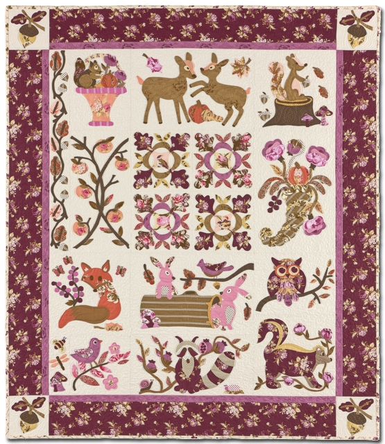 hidden forest pattern set verna mosquera vintage spool verna mosquera Elegant Vintage Valentine Quilt Pattern Verna Mosquera Inspirations