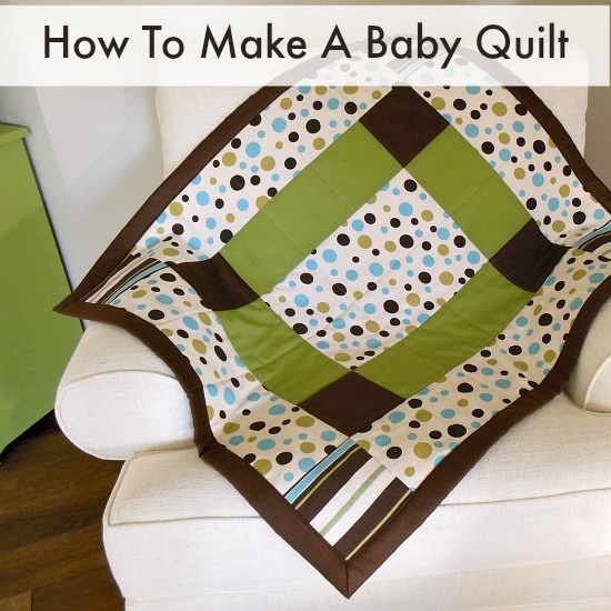 how to make a ba quilt so sew easy Unique Sew Easy Baby Quilt Inspirations