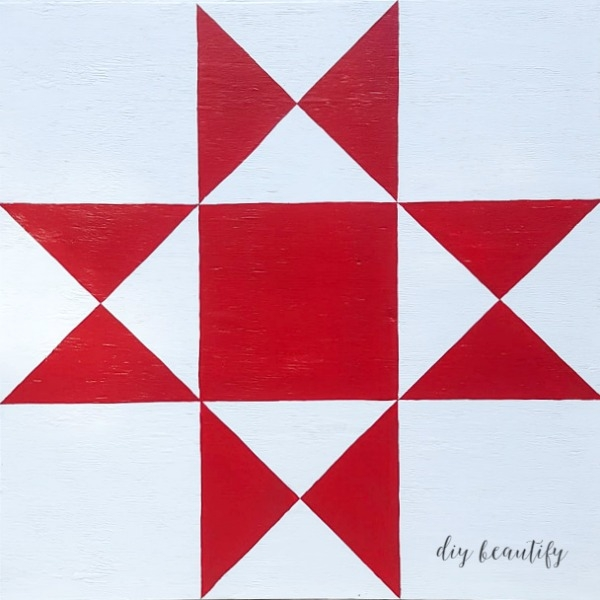 how to make a diy barn quilt diy beautify Unique Patterns For Barn Quilts Inspirations