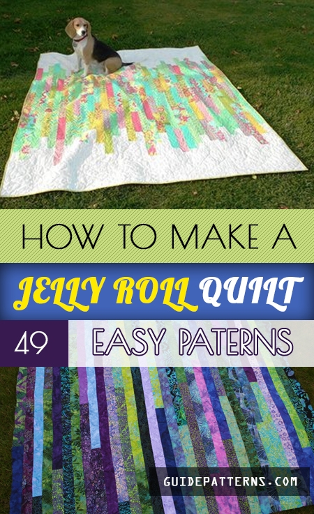 how to make a jelly roll quilt 49 easy patterns guide Unique Quilting Patterns For Jelly Rolls Gallery