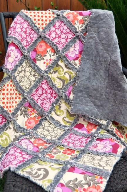 how to make a minky rag quilt quilts rag quilt patterns Cool Rag Quilt Patterns For Beginners Gallery