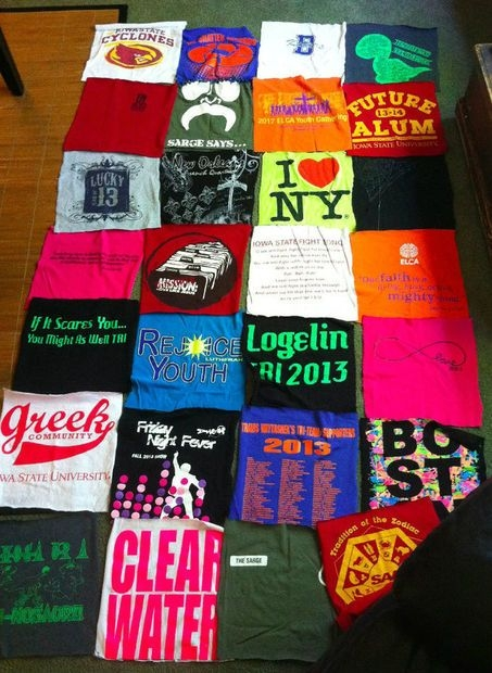 how to make a no sew t shirt blanket shirt quilt tshirt Cozy No Sew Tshirt Quilt Gallery
