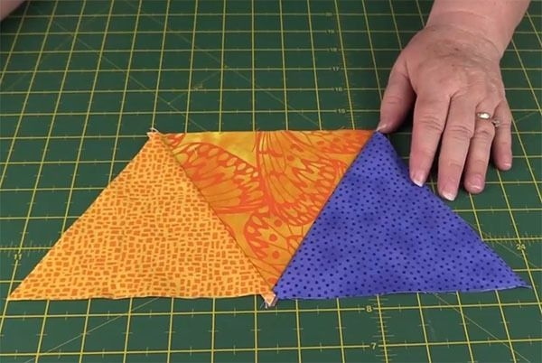 how to sew triangles together for quilting part 2 Sewing Triangles Together Quilting Inspirations