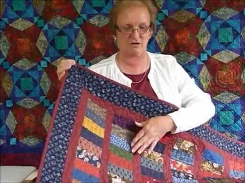 how to use some some 2 12 x 5 strips for a fun quilt quilting tips techniques 180 Cool Quilting Youtube Quilt Patterns Gallery