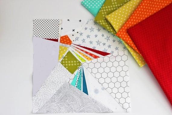 hummingbird paper pieced pdf quilt block pattern Stylish Hummingbird Quilt Pattern Inspirations