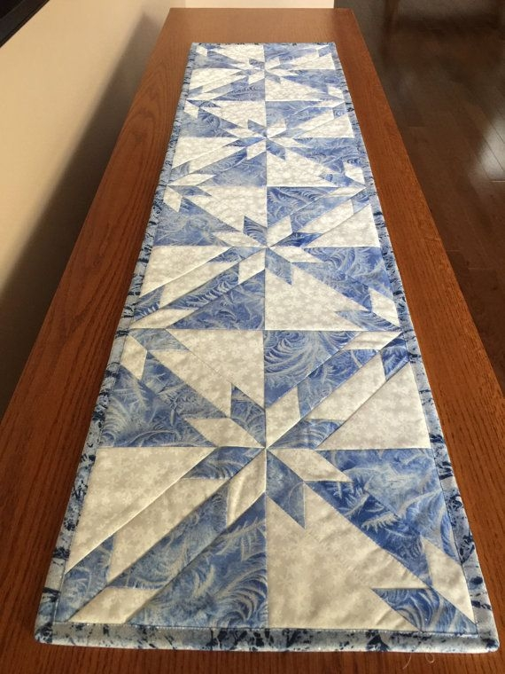 hunters star table runner love the pattern maybe i need to Stylish Quilted Table Runner Pattern Inspirations
