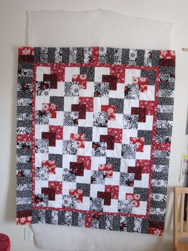 i have this pattern love the colors used in this quilt the Hanky Panky Quilt Pattern