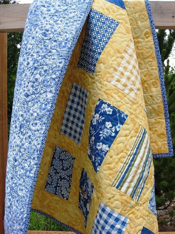 idea for a quilt for the living room theme or favorite Cozy Handmade Quilts Patterns Inspirations