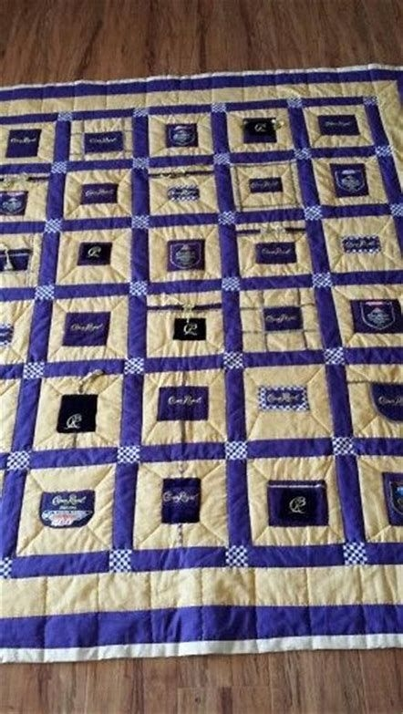 image result for crown royal quilt pattern simple crown Modern Crown Royal Quilt Patterns Gallery