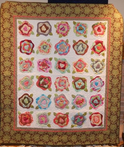 image result for french roses quilt pattern pdf pictorial Interesting French Rose Quilt Pattern