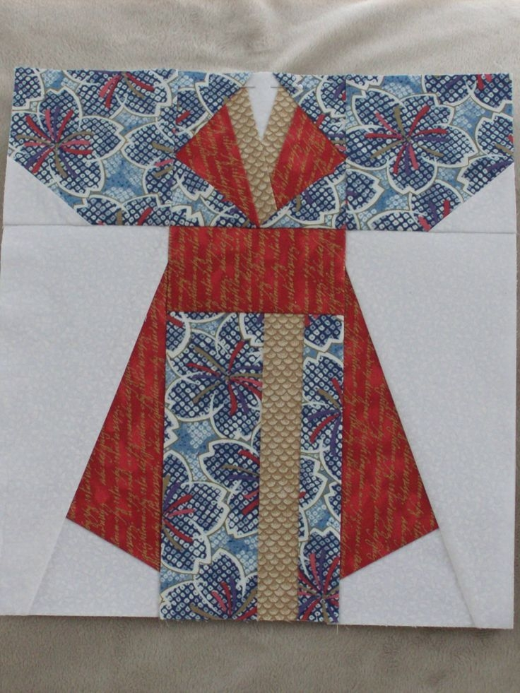 image result for kimono patterns free paper piecing quilt Stylish Kimono Quilt Paper Piecing Inspirations