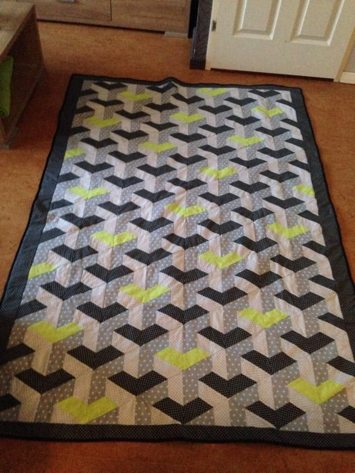 inner city quilt quilt 3d quilts quilts quilt patterns Elegant Inner City Quilt Pattern