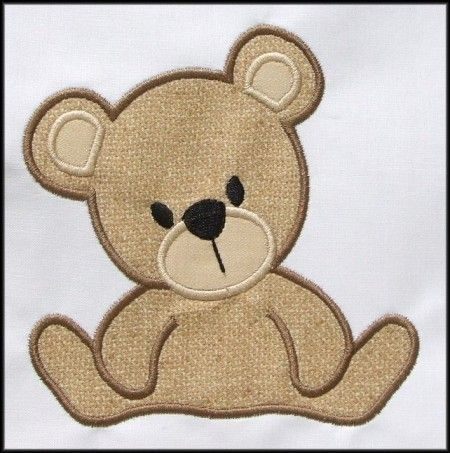 instant download teddy bear applique designs appliques for Unique Teddy Bear Applique Quilt Pattern Inspirations