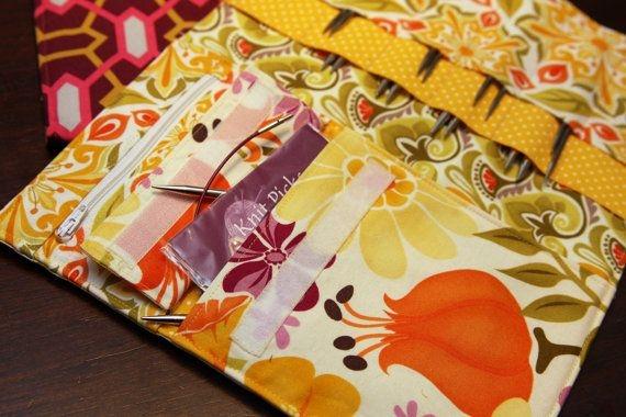 interchangeable knitting needle case pdf birdifulstitches Elegant Quilted Knitting Needle Case Pattern