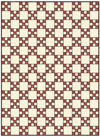 irish chain quilt pattern single double and triple irish Modern Triple Irish Chain Quilt Pattern Gallery