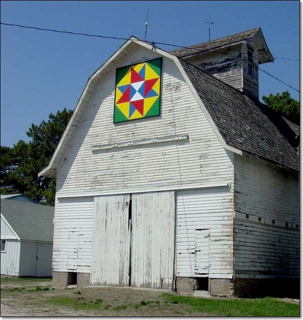 it was almost like a game to us barn quilt designs barn Unique Painted Quilts On Amish Barns Gallery
