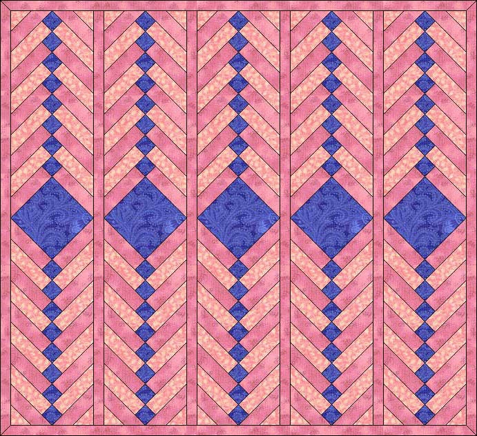janel was here french braid quilt pattern early american Unique French Braid Quilt Patterns