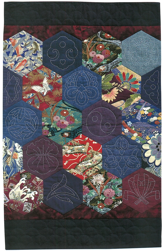 japanese fabric quilt patterns motifs sashiko more quilts Cozy Sashiko Quilting Patterns Gallery