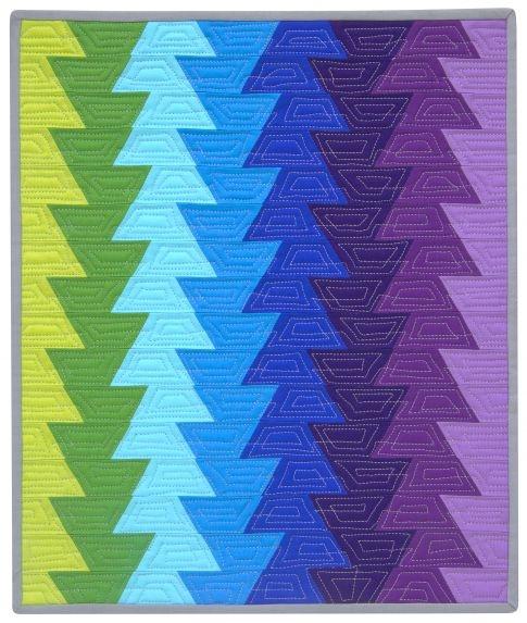 jaybird mini northern lights designer pattern robert Elegant Northern Lights Quilt Pattern Gallery