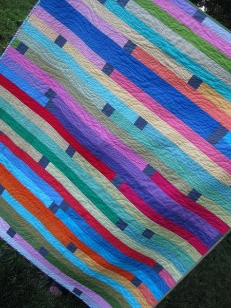 jelly roll 1600 quilt with a modern twist ava quilt Elegant Jelly Roll 1600 Quilt Patterns Inspirations