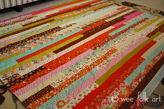 jelly roll race quilt directions notes wee folk art Elegant Jelly Roll Race Quilt Pattern