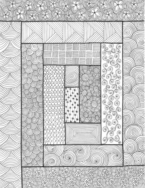 journaling journaling in 2020 zentangle patterns Cozy Zentangle Quilting Patterns Gallery