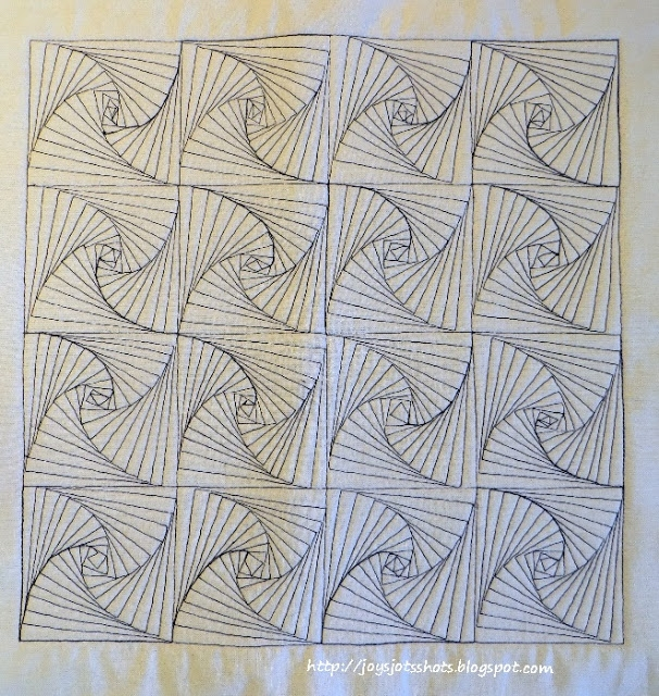 joys jots shots whatnots quilt shot block 39 paradox Cozy Zentangle Quilting Patterns Gallery