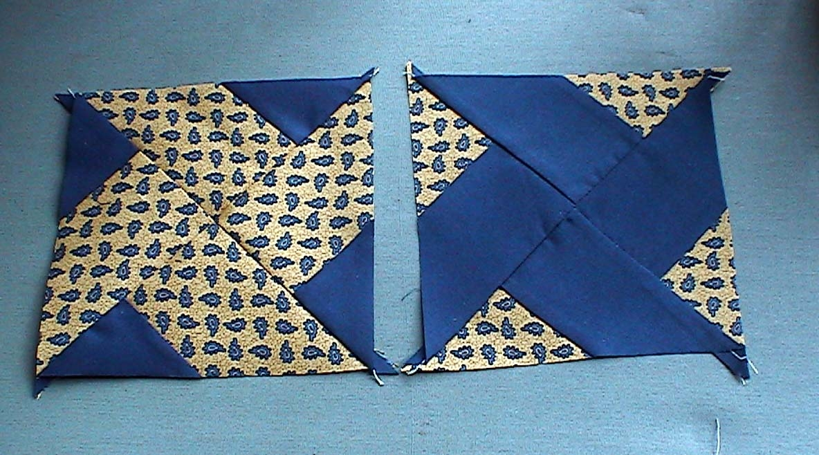 june ba quilt in progress Interesting Twin Sisters Quilt Pattern