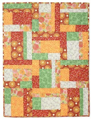 june tailor creativity center project sheets super Cozy Stack The Deck Quilt Pattern