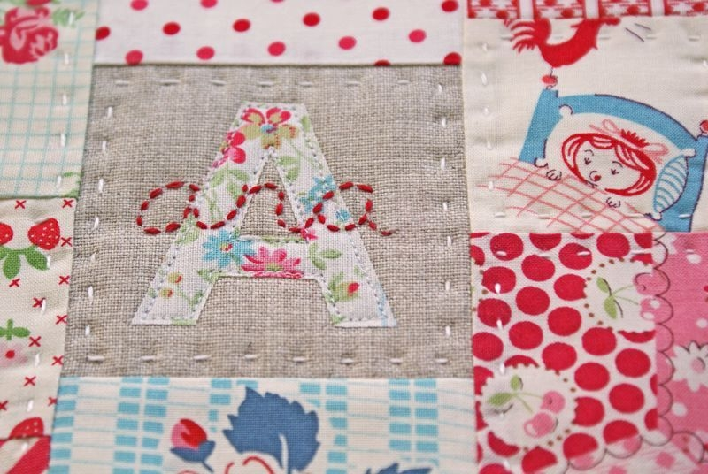 just 3 crippling self doubt sewing alphabet quilt Elegant 3 Fabric Quilt Idea Gallery