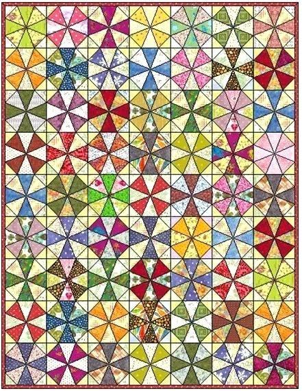 kaleidoscope quilt block kaleidoscope quilt block mast id Interesting Kaleidoscope Quilt Pattern Inspirations