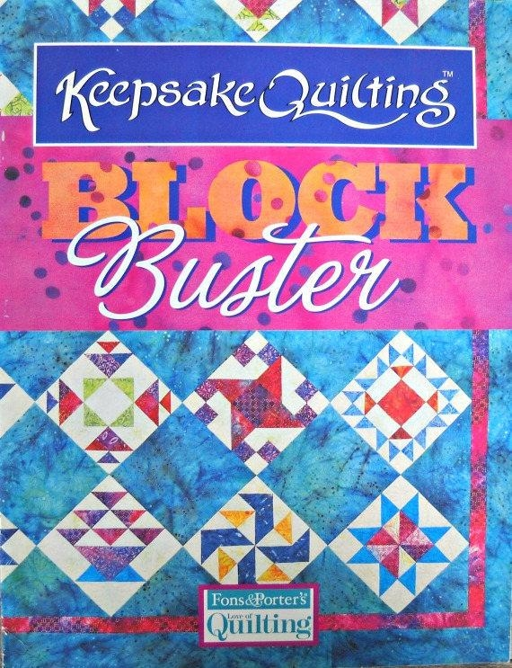 keepsake quilting block buster quilt booklet fons and porters love of quilting supplement traditional quilt patterns Unique Keepsake Quilting Patterns Inspirations