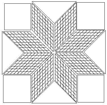 lakota star quilt pattern free strip pieced lone star tuto Unique Lone Star Quilt Pattern Free Inspirations