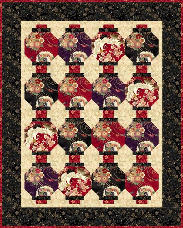lanterns quilt pattern tl 22 quilts quilt patterns Japanese Lantern Quilt Pattern Gallery