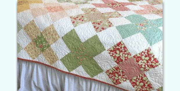 large granny square blocks make a charming quilt quilting Elegant Granny Square Quilt Pattern