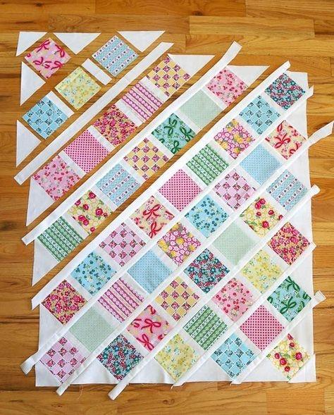 lattice ba quilt tutorial quilts quilts quilts ba Unique Patchwork Baby Quilt Patterns Inspirations