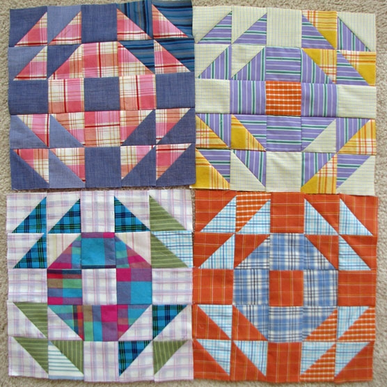 lazy gal quilting crown of thorn blocks Cozy Crown Of Thorns Quilt Pattern