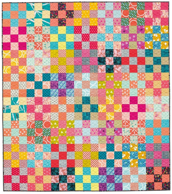 learn how to make a perfect nine patch quilt block the Interesting Nine Square Quilt Patterns