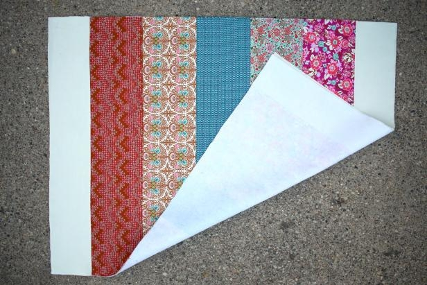 learn how to make and easy boho inspired quilt hgtv Unique Stylish Fabric Cutters For Quilting Inspiration