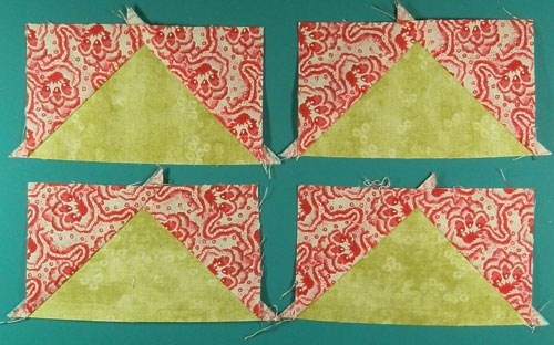 learn to make no waste flying geese quilt blocks quick Cozy Easy Flying Geese Quilt Pattern